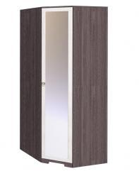 Бриз 10 Шкаф угловой, дверь Зеркало (Глазов-мебель)