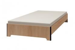 ЭКО 4. Кровать 120*200 см, без основания, без матраса (Глазов-мебель)