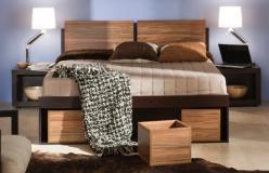 """Кровать 2 """"Hyper"""" на 1600 с основанием и подъемным механизмом (Глазов-мебель)"""