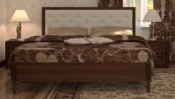 Кровать 2 на 160*200 «Монпелье» (Глазов-мебель)