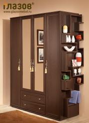 Шкаф для одежды и белья 1 «Милана» (Глазов-мебель)