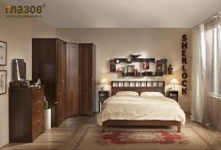 Спальня SHERLOCK (Шерлок). Компоновка 1 (Глазов-мебель)