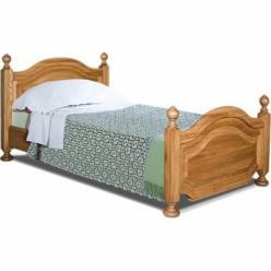 Кровать двухспальная 140х200см, ГМ 6233-01 серия Босфор (ГомельДрев)