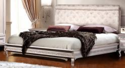 Кровать двуспальная, дубовая ГМ 5181 Фальконе (ГомельДрев)