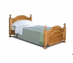 Кровать односпальная ГМ 6233-02 120х200 серия Босфор (ГомельДрев)