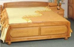 Кровать ГМ 8421 с решеткой  (ГомельДрев)