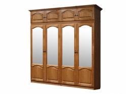 Шкаф для платья и белья ГМ 8422-01 Вариант 03 (ГомельДрев)