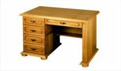 Стол письменный ГМ 2304-02 вариант 03 тумба слева (ГомельДрев)