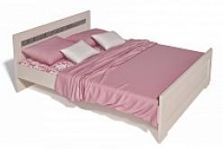 """Кровать 2-х спальная """"Соната"""" ИД 01.162 (Интеди)"""