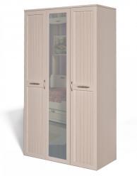 Шкаф для платья и белья 3-х дверный Соната ИД 01.57 (Интеди)