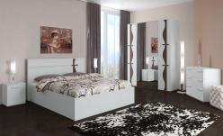 Спальня «Футура» Компоновка 1 (Интеди)