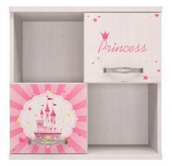 10 «Принцесса» Секция навесная (Ижмебель)