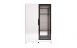 16 «Танго» Шкаф комбинированный 2-х дверный (Ижмебель)