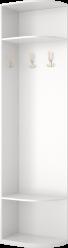 25 Угловая приставка с вешалкой «Виктория» (Ижмебель)