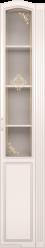 32 Шкаф-пенал правый со стеклом «Виктория» (Ижмебель)
