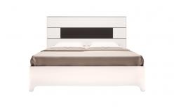 Кровать двойная на 1600 мм с ортопедом «Танго» 05 (Ижмебель)