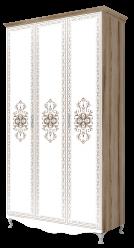 Шкаф 3-х дверный без зеркала «Династия» (без карниза) 9 (Ижмебель)