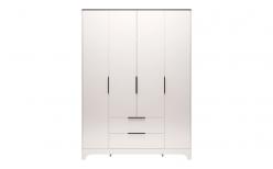 Шкаф для одежды 4-х дверный с ящиком без зеркал «Танго» 02 (Ижмебель)