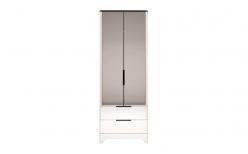Шкаф для одежды с ящиками 2-х дверный (с зеркалом) «Танго» 09 (Ижмебель)