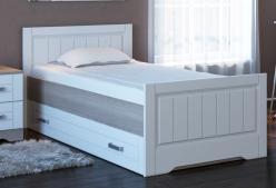 «Аллегро» 23 Кровать с ящиками на 80 с настилом, без матраса (Кентавр 2000)