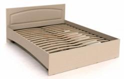 ЭМ-14 кровать с ламелями  (Компасс)
