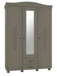 Шкаф 3-х створчатый с зеркалом Ассоль Плюс АС-27 (Компасс)