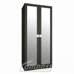 Александрия Шкаф для одежды АМ-01-премиум с зеркалами (Компасс)