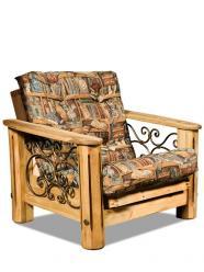 """Кресло """"Викинг 02"""" (с мягким элементом) (Лидская)"""