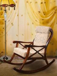 Кресло-качалка (+ мягкий элемент) (Лидская)