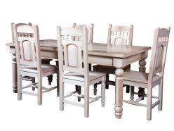 """Стол обеденный """"Викинг GL-05"""" (отделка браширование) (Лидская)"""