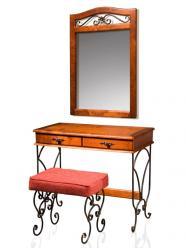 """Стол туалетный с зеркалом """"Глория-8"""" (Лидская)"""