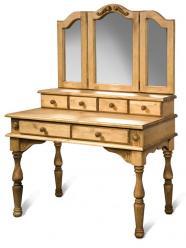 """Стол туалетный с зеркалом """"Викинг GL"""" (Лидская)"""