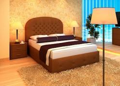 """Кровать """"Венеция"""" с подъемным механизмом (Лонакс (Lonax))"""