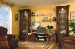 Стенка для гостиной Наполи-28 М (Мебель Черноземья) (Мебель Черноземья)