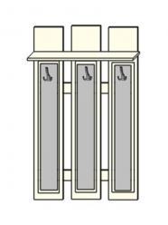 Панель МДФ со вставкой экокожа (ПМК№3) (Мебель-Холдинг)