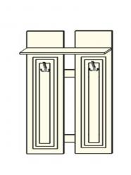 Планка между панелями с крючками (ПМ№2) (Мебель-Холдинг)