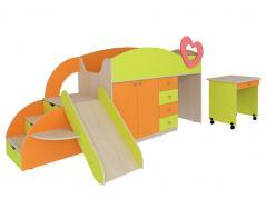 Детский комплекс Карапуз со столиком (Мебельсон)