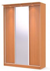 Шкаф купе Афина 3D Люкс  (МегаЭлатон)