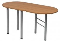 Стол полускладной овальный «Женева-3»  (МегаЭлатон)