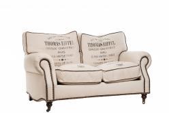 Диван двухместный Tomas-Eiffiel (лен) (Mobilier de Maison)