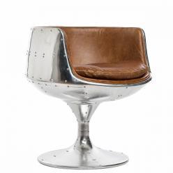 Кресло бокал Aviator на крутящейся ножке (Mobilier de Maison)