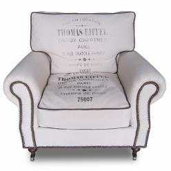 Кресло Tomas-Eiffiel (лен) (Mobilier de Maison)