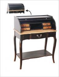 Прованс Бюро деревянное (черный состаренный)  (Mobilier de Maison)
