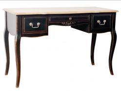 Прованс Стол письменный большой (черный состаренный) (Mobilier de Maison)