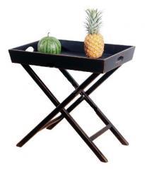Прованс Столик сервировочный (черный состаренный)  (Mobilier de Maison)
