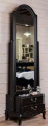 Прованс Зеркало напольное (черное состаренное) (Mobilier de Maison)