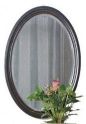 Прованс Зеркало овальное (черное состареное) (Mobilier de Maison)