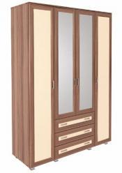 «Карина Люкс» Модуль 14 Шкаф четырехдверный (МСТ Мебель)