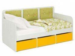 «Умка» Модуль 1 Кровать малая, без матраса (МСТ Мебель)
