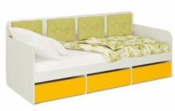«Умка» Модуль 2 Кровать большая 80*200 без матраса и подушек (МСТ Мебель)